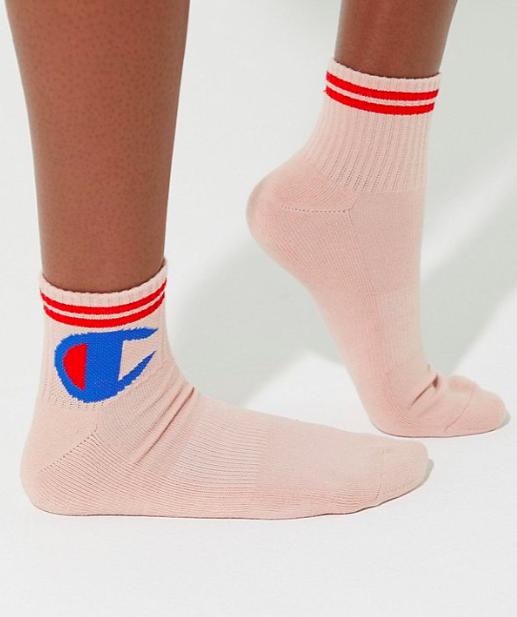 UO Champion Big C Crew Sock