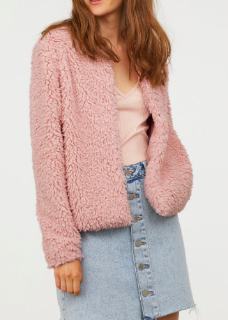 HM Faux Fur Jacket