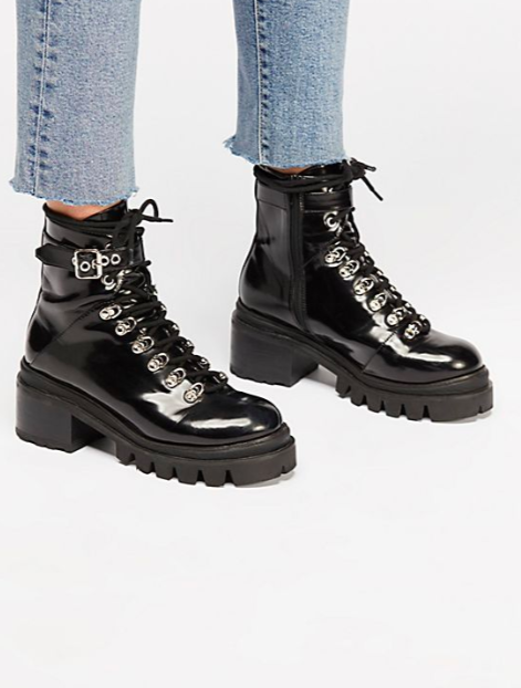 FP Check Lace-Up Boot