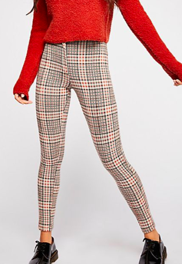FP Carnaby Plaid Pant