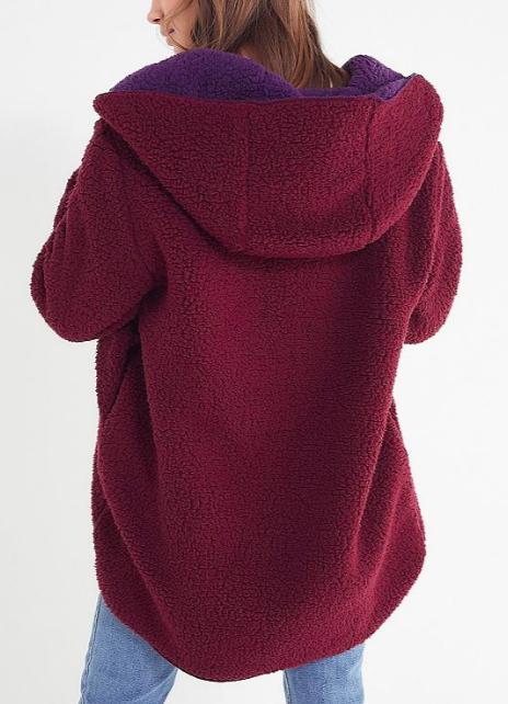UO Carmella Cozy Reversible Coat