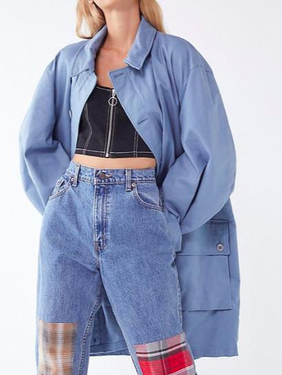 Vintage Oversized Utility Jacket