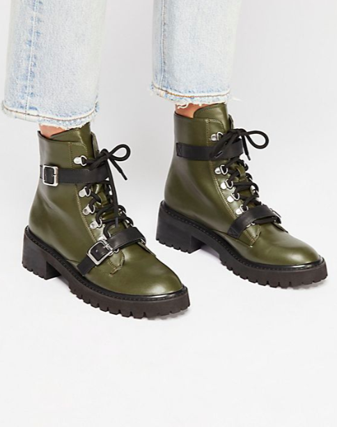 FP Vegan Slate Lace-Up Boot