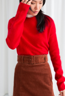 Stories Cotton Blend Sweater