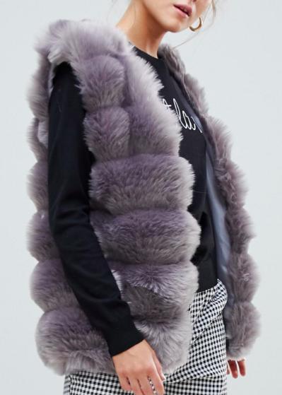 Willow & Paige faux fur vest