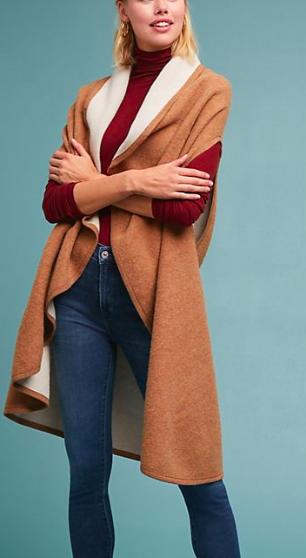 ANTHROPOLOGIE Samantha Reversible Vest
