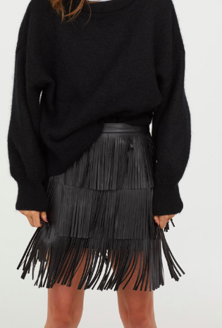 HM Skirt with Fringe