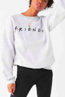 Friends Logo Crew-Neck Sweatshirt
