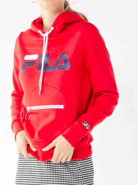 FILA + Pierre Cardin Circle Hoodie Sweatshirt