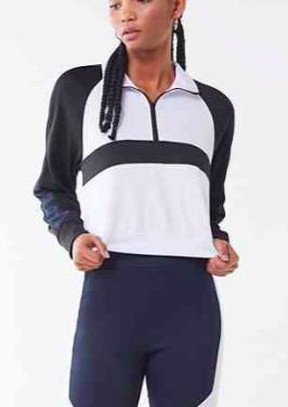 UO Mason Half-Zip Popover Sweatshirt