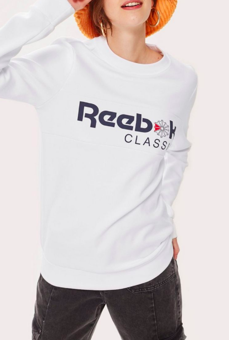 Crew Neck Sweatshirt by Reebok