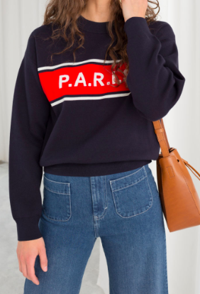 STORIES Paris Pullover