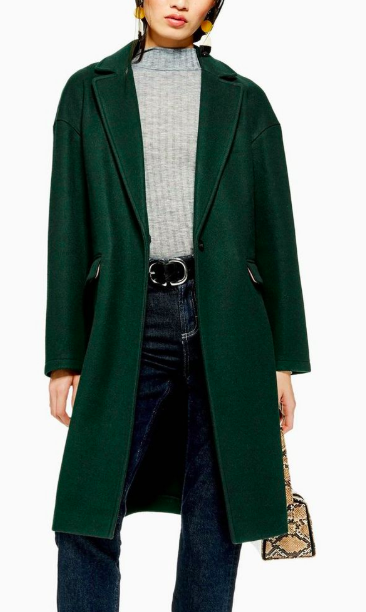 Topshop Relaxed Coat