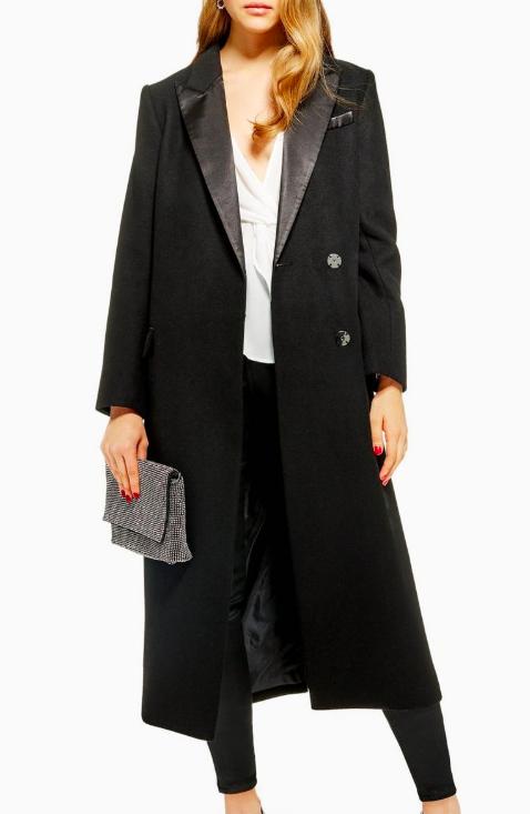 Topshop Tuxedo Coat