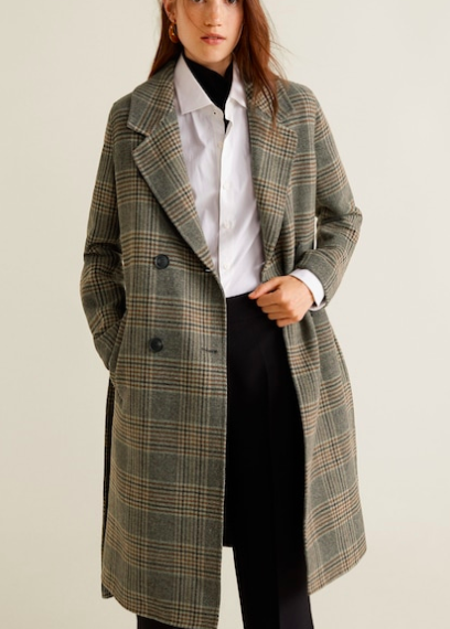 Mango Wool handmade coat