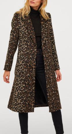 HM Wool-blend Coat