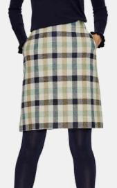 British Tweed Wool Mini Skirt BODEN