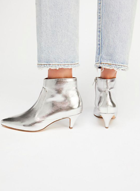 Jane and the Shoe Kizzy Kitten Heel Boot