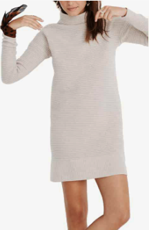 Skyscraper Merino Wool Sweater Dress MADEWELL