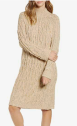Cable Knit Sweater Dress BP.