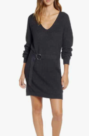 Belted Sweater Dress BP.