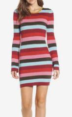 Stripe Sweater Dress BLANKNYC