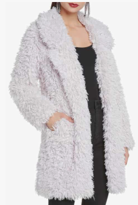 Faux Fur Coat WILLOW & CLAY Price