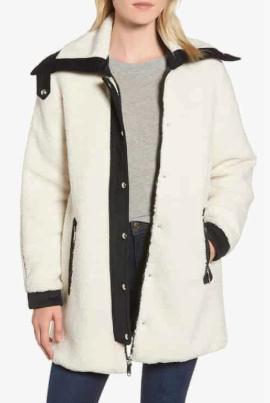 Berber Reversible Coat SAM EDELMAN