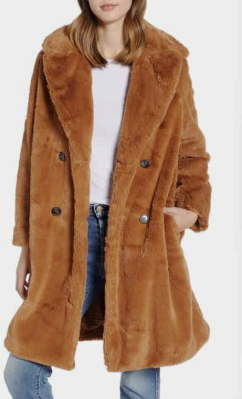 Annie Faux Fur Jacket FRENCH CONNECTION