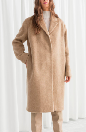 Stories Wool Blend Long Coat