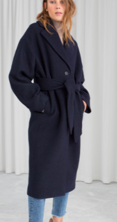 Stories Belted Wool Coat