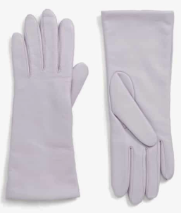 x Atlantic-Pacific Cashmere Lined Leather Gloves HALOGEN®