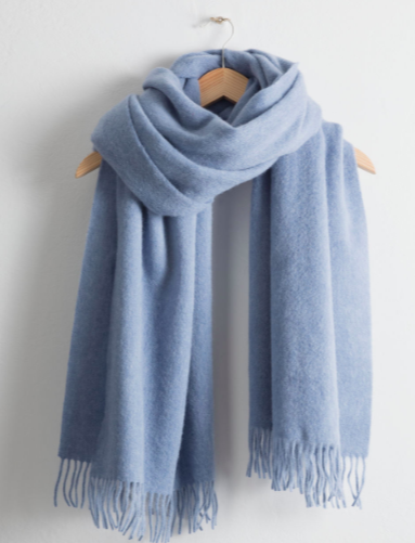 Stories Oversized Wool Scarf