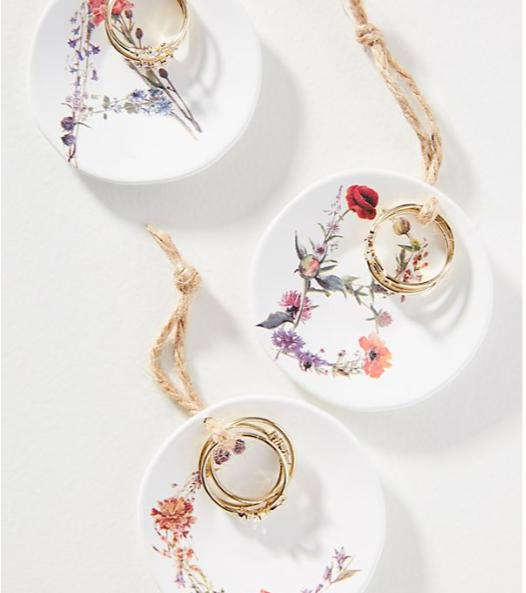 Monogram Ring + Dish Gift Set