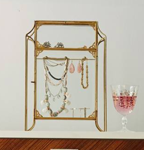 Anthropologie Standing Jewelry Cabinet