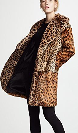 Blank Denim Party Animal Coat