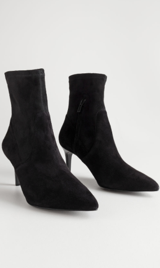 Stories Suede Sock Boots