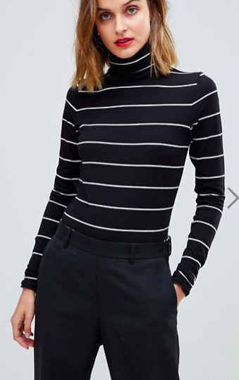 Esprit Roll Neck Top