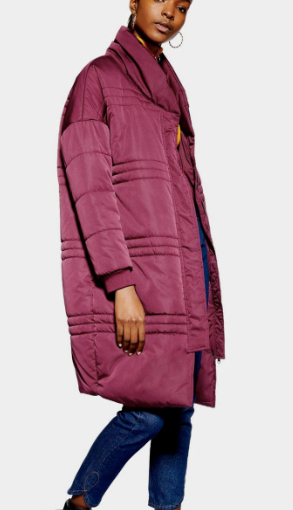 **Longline Puffer Jacket by Native Youth