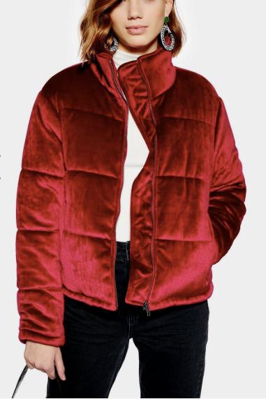 **Plush Padded Jacket by Native Youth