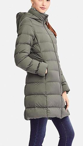 Uniqlo WOMEN ULTRA LIGHT DOWN HOODED COAT