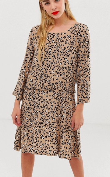 mByM leopard print mini dress
