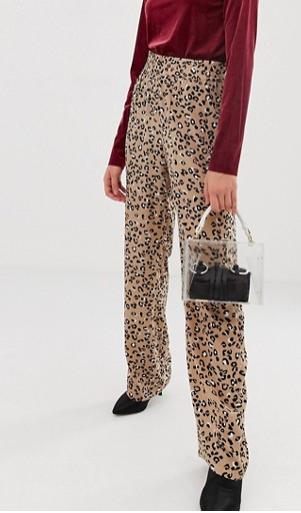 mByM leopard print pants
