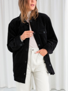 Stories Oversized Corduroy Overshirt