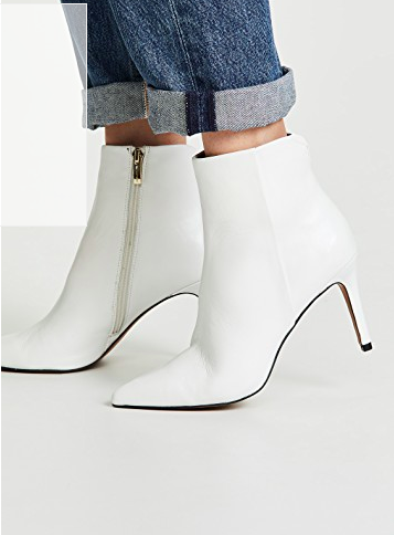 Steven Leila Pointed Toe Booties