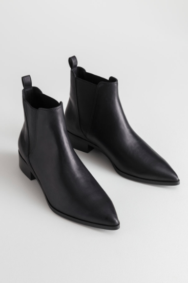 Stories Leather Chelsea Boots