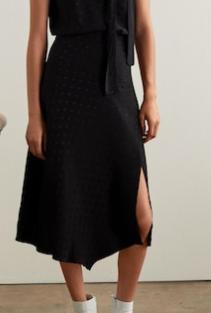 Mango Jacquard skirt