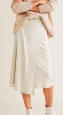 Mango Wrap flowy skirt