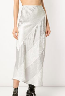 GEORGIA ALICE Delilah panelled slip skirt