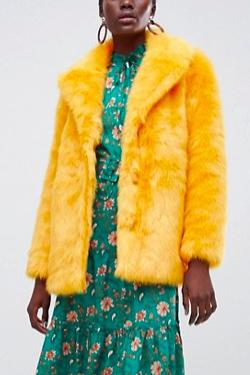 Vero Moda Faux Fur Jacket